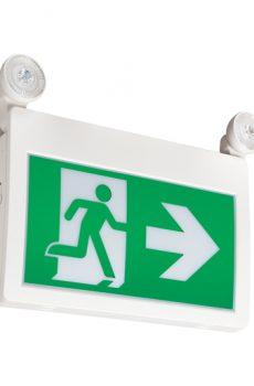 Exit light 2 head