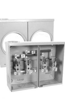 Hydel meter base Left side entry