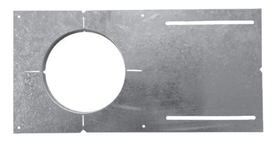 Rough-in Plate with Legs