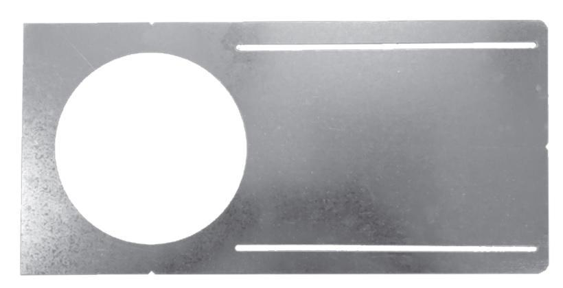 Rough-in Plate