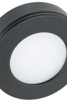 Round black light