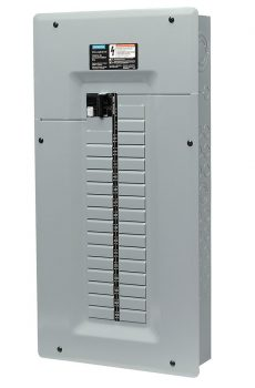 Siemens panel with breaker