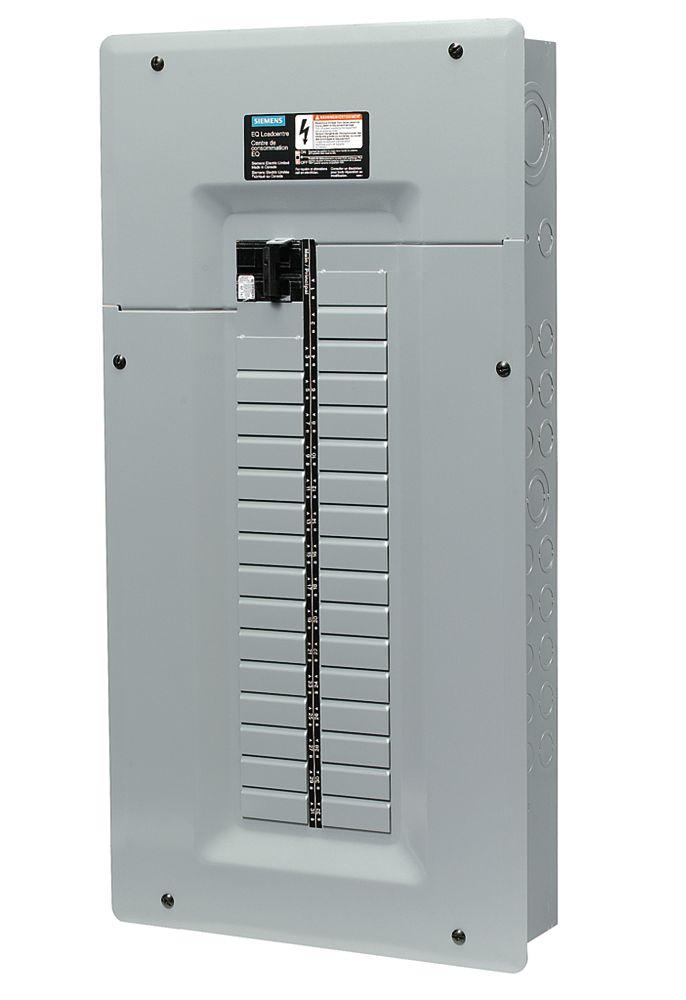 Siemens panel with breaker